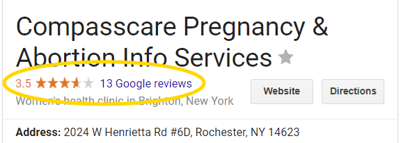 CompassCare Google Reviews: What to Make of Them